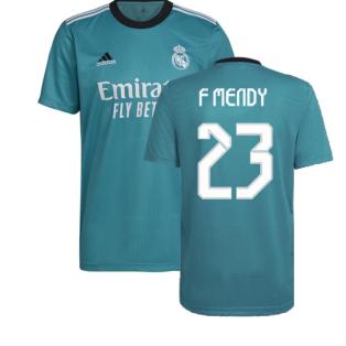 Real Madrid 2021-2022 Third Shirt (F MENDY 23)