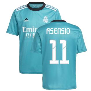 Real Madrid 2021-2022 Third Shirt (Kids) (ASENSIO 11)