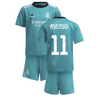 Real Madrid 2021-2022 Thrid Mini Kit (ASENSIO 11)