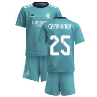 Real Madrid 2021-2022 Thrid Mini Kit (CAMAVINGA 25)