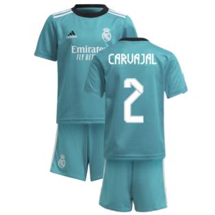 Real Madrid 2021-2022 Thrid Mini Kit (CARVAJAL 2)