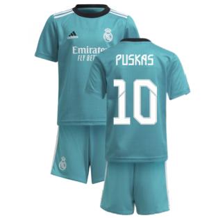 Real Madrid 2021-2022 Thrid Mini Kit (PUSKAS 10)
