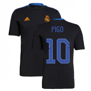 Real Madrid 2021-2022 Training Tee (Black) (FIGO 10)