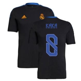 Real Madrid 2021-2022 Training Tee (Black) (KAKA 8)