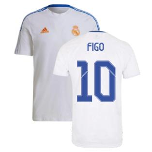 Real Madrid 2021-2022 Training Tee (White) (FIGO 10)