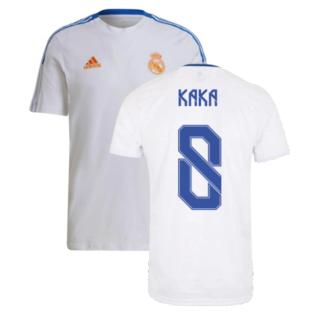 Real Madrid 2021-2022 Training Tee (White) (KAKA 8)