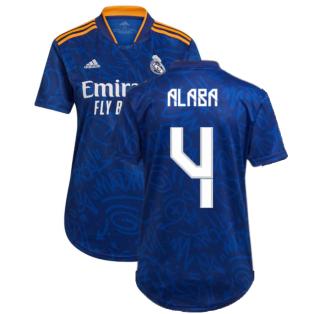 Real Madrid 2021-2022 Womens Away Shirt (ALABA 4)
