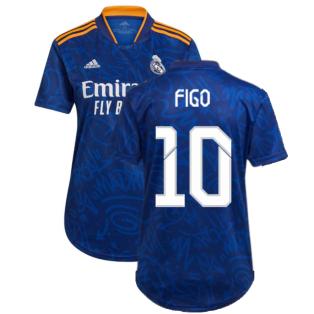Real Madrid 2021-2022 Womens Away Shirt (FIGO 10)