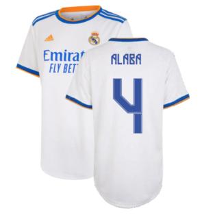 Real Madrid 2021-2022 Womens Home Shirt (ALABA 4)