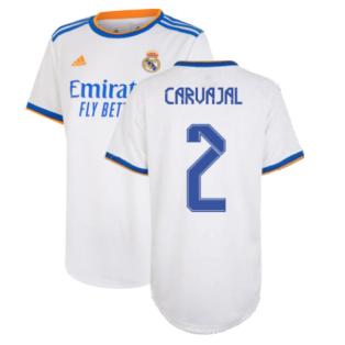 Real Madrid 2021-2022 Womens Home Shirt (CARVAJAL 2)