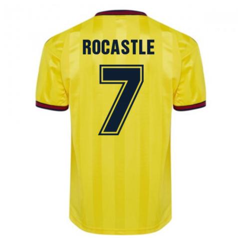 Score Draw Arsenal 1985 Centenary Away Shirt (ROCASTLE 7)