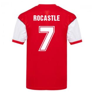 Score Draw Arsenal 1982 Home Shirt (ROCASTLE 7)