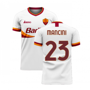 Roma 2020-2021 Away Concept Football Kit (Libero) (MANCINI 23)
