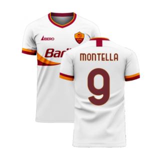 Roma 2020-2021 Away Concept Football Kit (Libero) (MONTELLA 9)