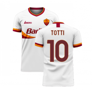 Roma 2020-2021 Away Concept Football Kit (Libero) (TOTTI 10)