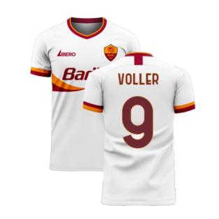 Roma 2020-2021 Away Concept Football Kit (Libero) (VOLLER 9)