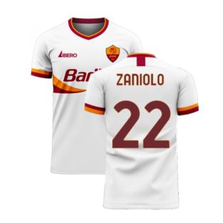 Roma 2020-2021 Away Concept Football Kit (Libero) (ZANIOLO 22)