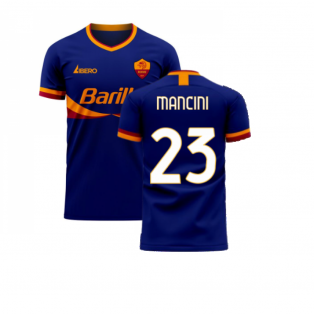 Roma 2020-2021 Third Concept Football Kit (Libero) (MANCINI 23)