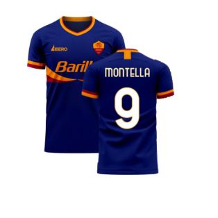 Roma 2020-2021 Third Concept Football Kit (Libero) (MONTELLA 9)