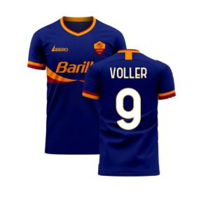 Roma 2020-2021 Third Concept Football Kit (Libero) (VOLLER 9)
