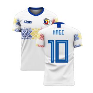 Romania 2020-2021 Away Concept Football Kit (Libero) (HAGI 10)