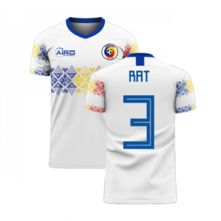 Romania 2020-2021 Away Concept Football Kit (Libero) (RAT 3)