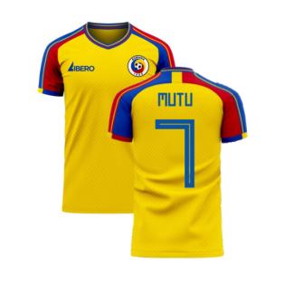 Romania 2020-2021 Home Concept Football Kit (Libero) (MUTU 7)