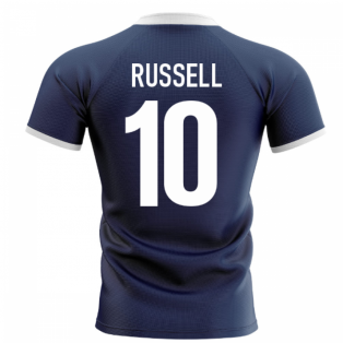 2020-2021 Scotland Flag Concept Rugby Shirt (Russell 10)