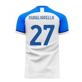 Sampdoria 2020-2021 Away Concept Football Kit (Libero) (QUAGLIARELLA 27)