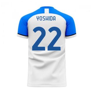 Sampdoria 2020-2021 Away Concept Football Kit (Libero) (YOSHIDA 22)