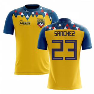 2018-2019 Colombia Concept Football Shirt (Sanchez 23)