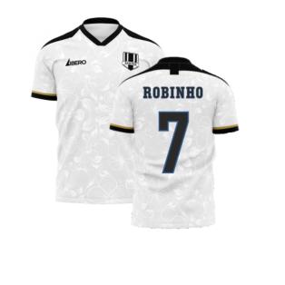 Santos 2020-2021 Home Concept Football Kit (Libero) (ROBINHO 7)