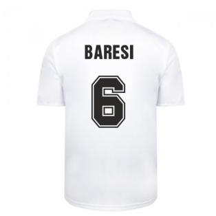 Score Draw Ac Milan 1988 Away Retro Football Shirt (BARESI 6)