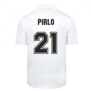 Score Draw Ac Milan 1988 Away Retro Football Shirt (PIRLO 21)