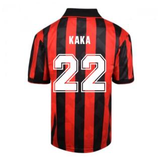 Score Draw AC Milan 1994 Retro Football Shirt (KAKA 22)