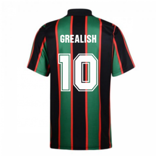 Score Draw Aston Villa 1994 Away Retro Shirt (Grealish 10)