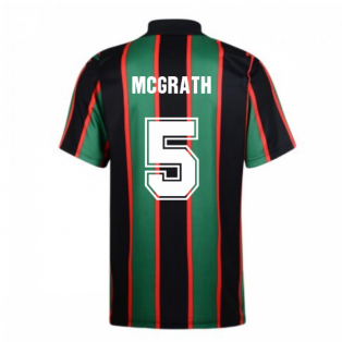 Score Draw Aston Villa 1994 Away Retro Shirt (McGrath 5)
