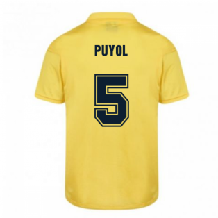 Score Draw Barcelona 1982 Away Shirt (PUYOL 5)
