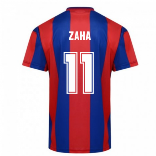 Score Draw Crystal Palace 1990 FA Cup Final Retro Football Shirt (Zaha 11)