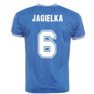 Score Draw Everton 1984 Home Shirt (JAGIELKA 6)