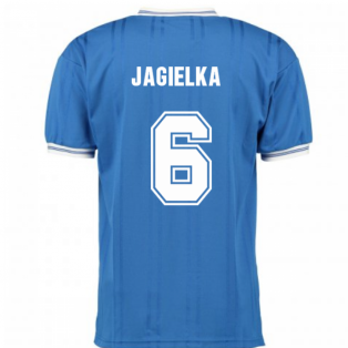 Score Draw Everton 1985 ECWC Final Home Shirt (JAGIELKA 6)