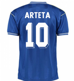Score Draw Everton 1986 Home Shirt (ARTETA 10)