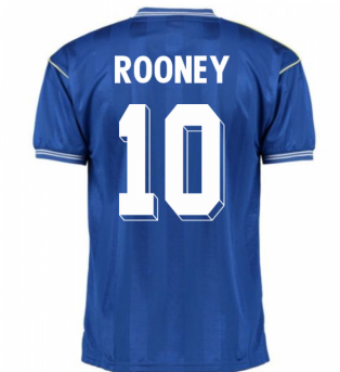 Score Draw Everton 1986 Home Shirt (ROONEY 10)