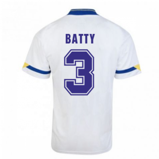 Score Draw Leeds United 1992 Home Shirt (Batty 4)