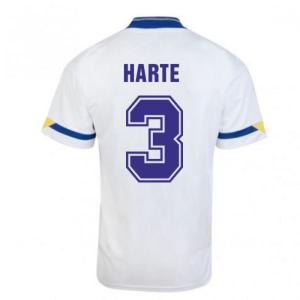 Score Draw Leeds United 1992 Home Shirt (HARTE 3)