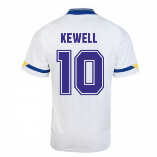 Score Draw Leeds United 1992 Home Shirt (KEWELL 10)