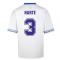 Score Draw Leeds United 1993 Admiral Retro Football Shirt (HARTE 3)