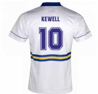 Score Draw Leeds United 1994 Home Shirt (KEWELL 10)
