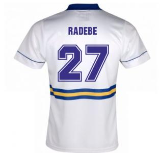 Score Draw Leeds United 1994 Home Shirt (Radebe 27)