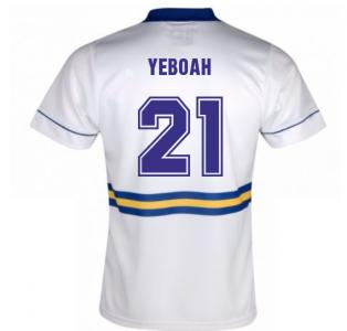 Score Draw Leeds United 1994 Home Shirt (Yeboah 21)